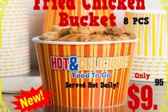 Irie Fried Chicken Bucket