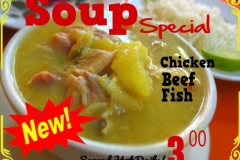 Irie Caribbean Soup Special